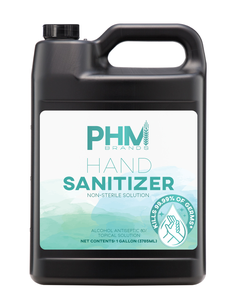 gallon of hand sanitizer