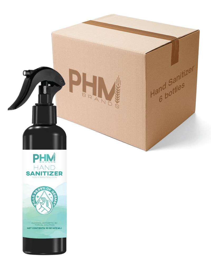 Hand sanitizer spray bottle bulk box
